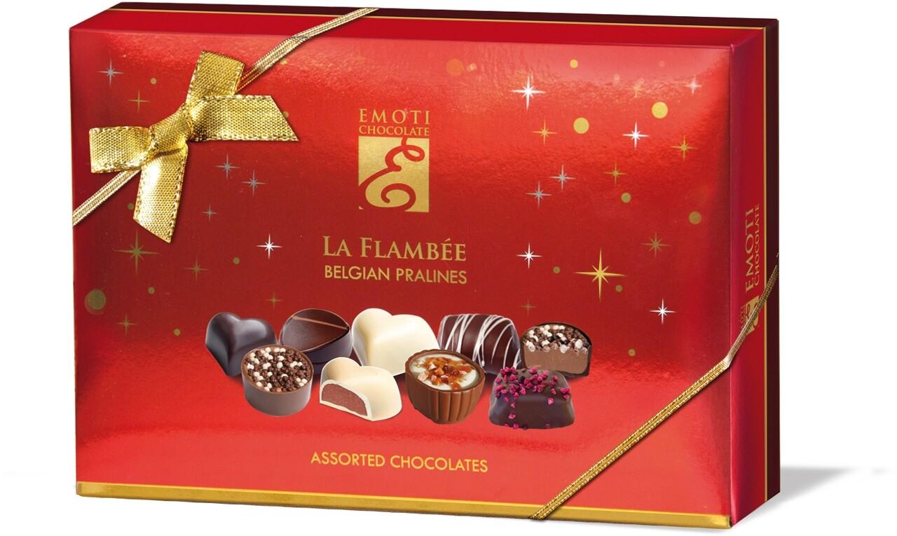 Emoti La Flambee (Assorted Chocolates) Xmas 120g