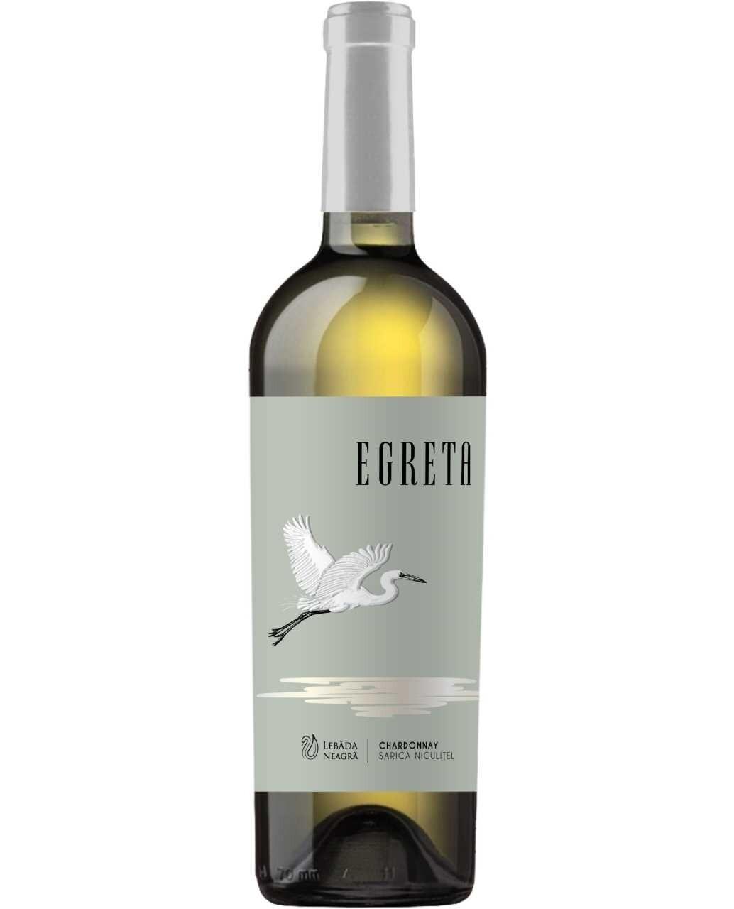 Lebada Neagra Egreta Chardonnay Sec